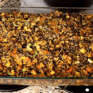 Wild Rice and Cornbread Stuffing
