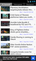 Screenshot of Computer Games News