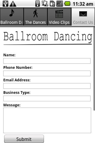 Ballroom Dancing App