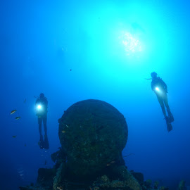 SS Thistlegorm part.2 by Damir Zurub - Landscapes Underwater ( ss thistlegorm, red sea, wreck, diving )