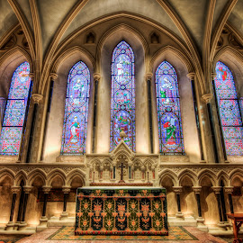 Saint Patrick's Cathedral by Mike Shaw - Buildings & Architecture Places of Worship ( ireland, hdr, dublin, cathedral, architecture )
