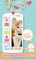 Screenshot of Cute Face&Words Box ThemeDECO+