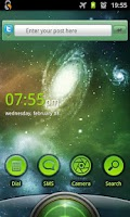 Screenshot of SmartShift Lockscreen