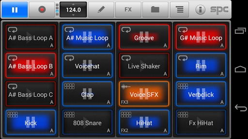 SPC Techno Scene Pack - screenshot