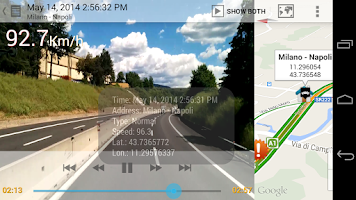 Screenshot of AutoGuard Blackbox - Dash Cam