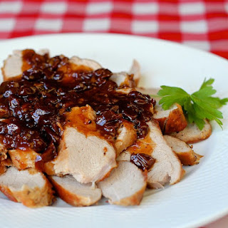 Cherry Orange Pork Medallions