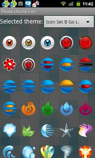 Icon Set B Go Launcher Ex