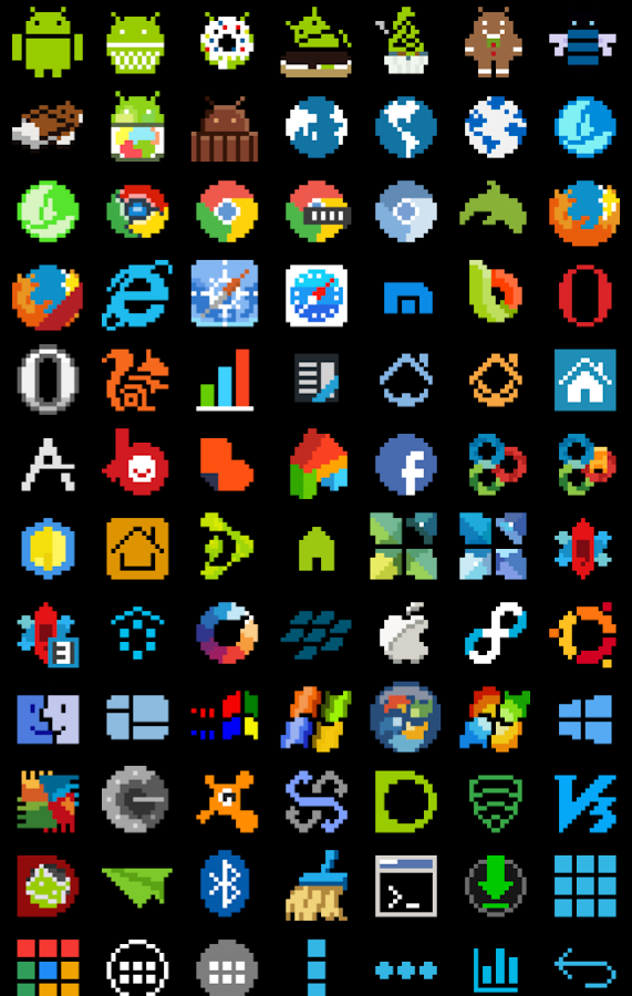 8-BIT Icon Theme Screenshot 11