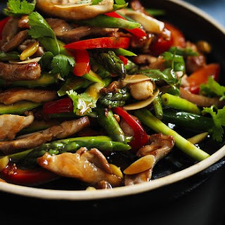 Stir-fried Chicken And Asparagus