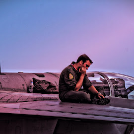 Top Gun by Mario Borg - Professional People Military ( fighter pilot, hdr, air x malta 2014 )