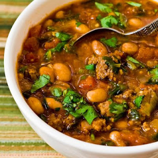 Pressure Cooker Recipe for Pinto Bean and Beef Soup with Cumin and Cilantro
