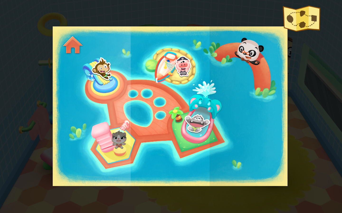 Dr. Panda's Swimming Pool Screenshot 5
