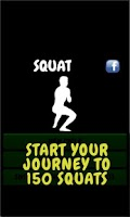 Screenshot of Squat - workout routine