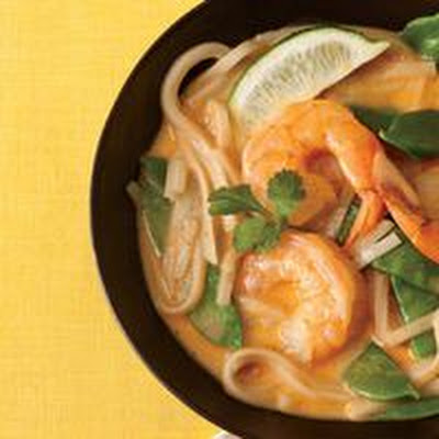 Thai Noodle Bowl with Shrimp