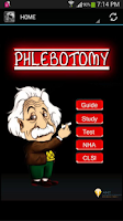 Screenshot of Phlebotomy