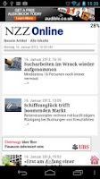 Screenshot of Swiss Mobile News