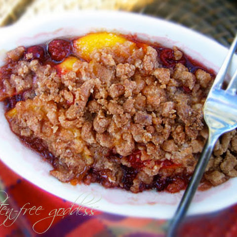 Gluten-Free Cranberry Crumble