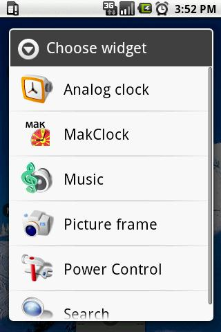 MakClock Widget