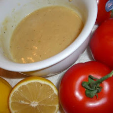 Fresh Lemon Vinaigrette Dressing