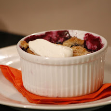 Blueberry-Nectarine Crisp