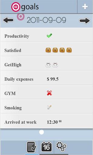 【免費生產應用App】42Goals-APP點子