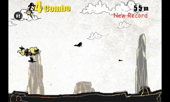 Screenshot of Kung-Fu Runner