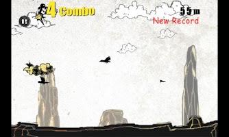 Screenshot of Kung-Fu Runner