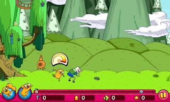 Screenshot of Super Jumping Finn