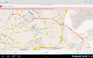 Screenshot of Mileage vehicle GPS Tracker