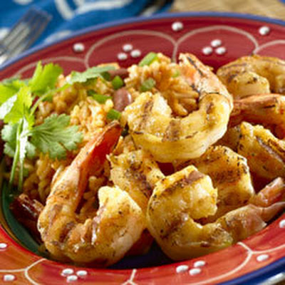 Smokey Garlic Bbq Shrimp