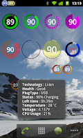 Screenshot of Battery Widget Plus