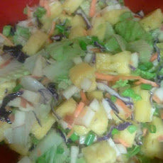 Fresh Pineapple Salad