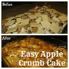 Easy Apple Crumb Cake