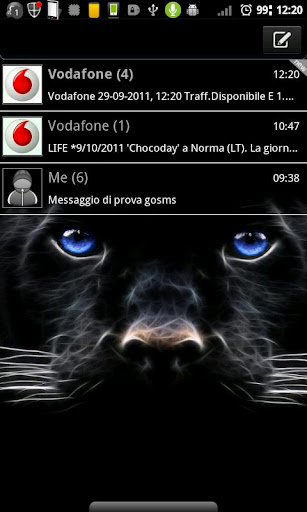 GOSMSTHEME Black Panther