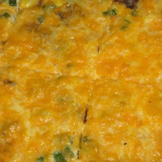 Easy Oven-Baked Bacon Cheese Frittata