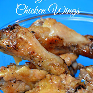 Baked Garlic Butter Chicken Wings