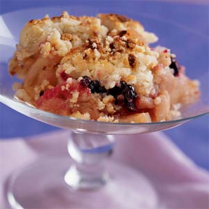 Apple and Blackberry Crumble Recipe | Yummly