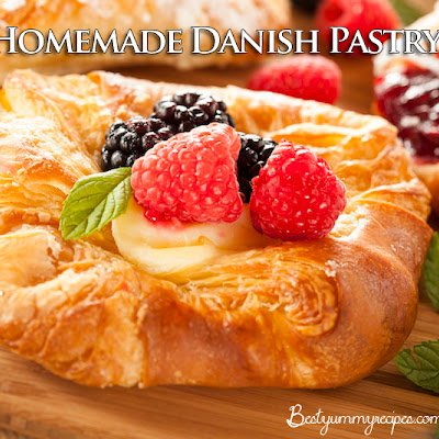 Homemade Danish Pastry