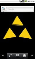 Screenshot of Triforce Live Wallpaper