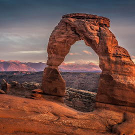 Delicate Arch  by David Long - Landscapes Caves & Formations