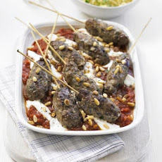 Moroccan Kofte With Spicy Tomato Sauce