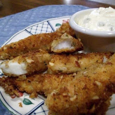 Homemade Cod Fish Sticks