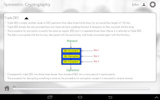 Screenshot of Learn Cryptography
