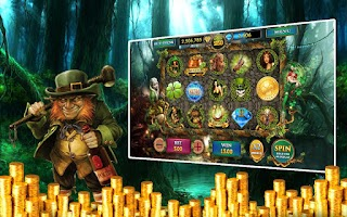 Screenshot of Leprechaun Slots Machine Pokie