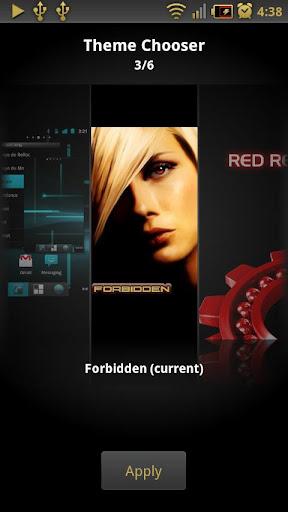 Forbidden theme Donation
