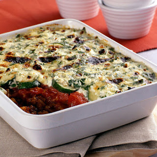 Beef and Vegetable Cheese Casserole
