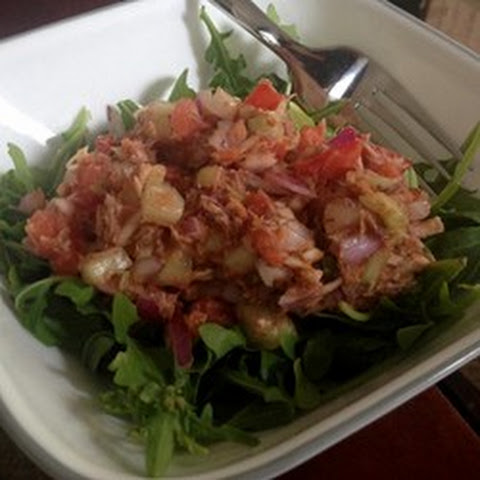 Tomato Mackerel Salad