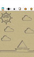 Screenshot of اكتب و ارسم على الرمل