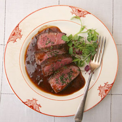 Filet Mignon with Bordelaise Sauce