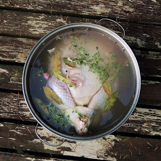 White Wine Turkey Brine